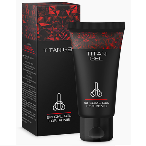 GEL LUBRIFIANT TITAN 50ML